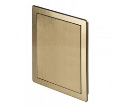 AD200x200 Brúsené zlaté plastové dvierka