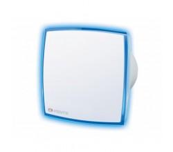 Ventilátor VENTS 100 LD Light Blue+základ+led podsvietenie modré-zapínanie vypínačom na svetlo