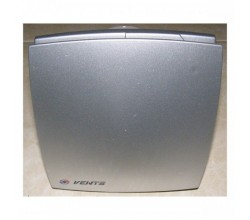Ventilátor VENTS 150LDTH Alumat+predná mriežka hliníkovej farby+časový dobeh+parový senzor